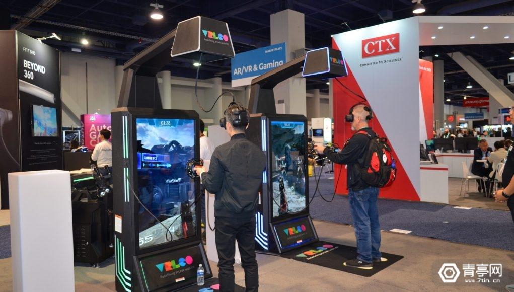 CES 2020:狮峪展示触屏自助一体式VR街机VRLEO