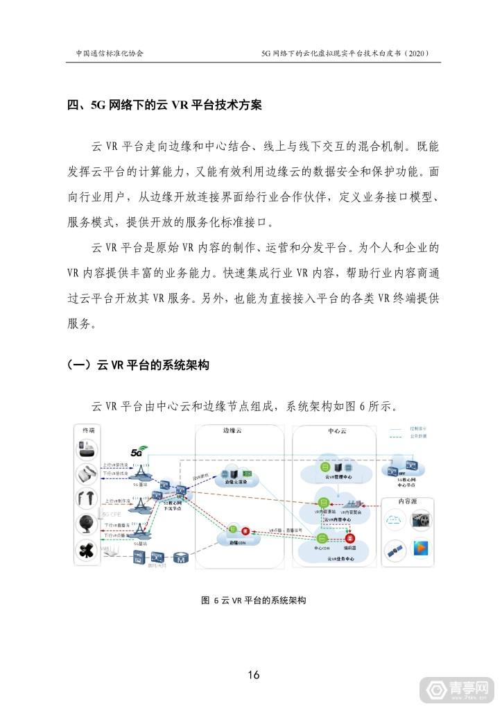 CCSA发布《5G网络下的云化虚拟现实平台技术白皮书》 (22)