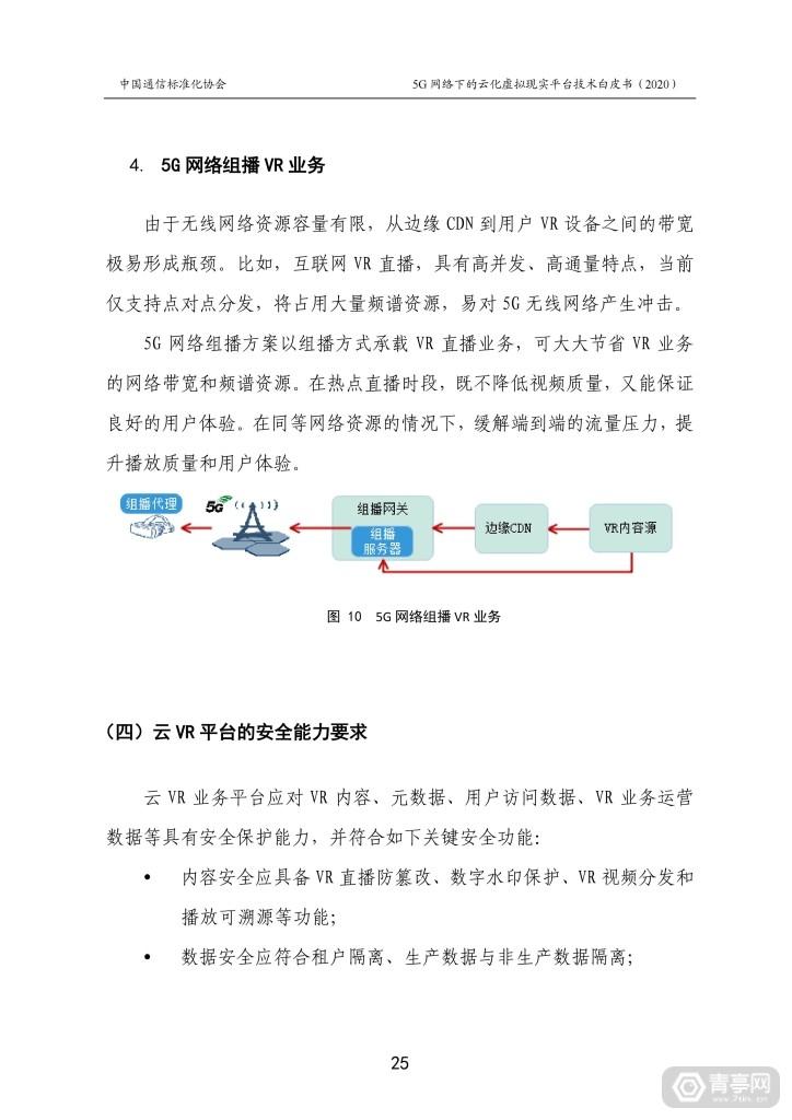 CCSA发布《5G网络下的云化虚拟现实平台技术白皮书》 (31)