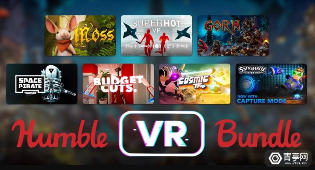 Humble VR Bundle销售额突破100万美元