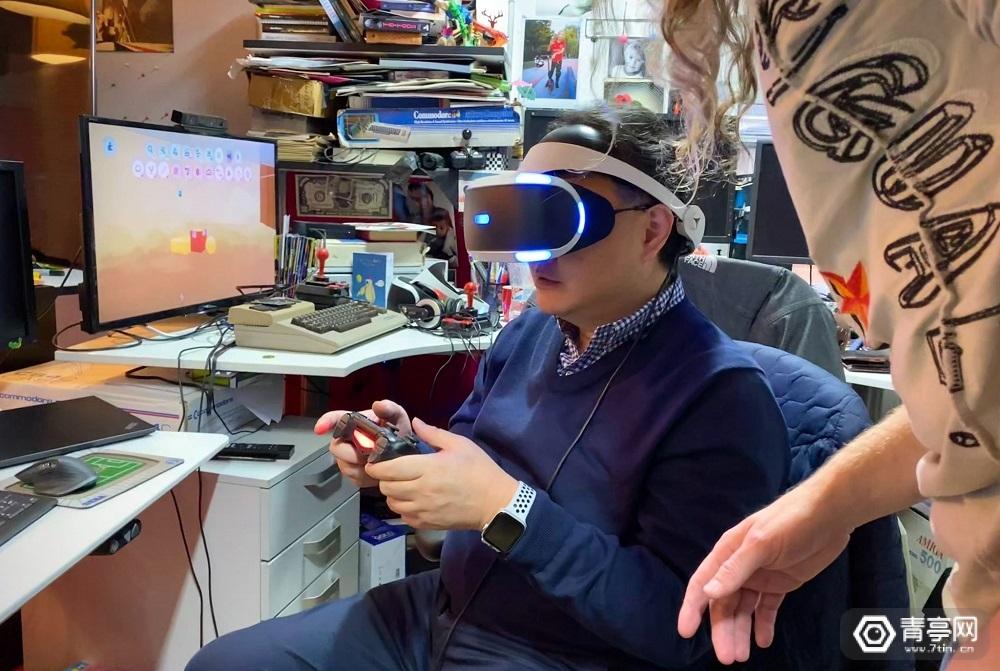 《Dreams》VR版开发接近尾声,吉田修平试玩照片曝光
