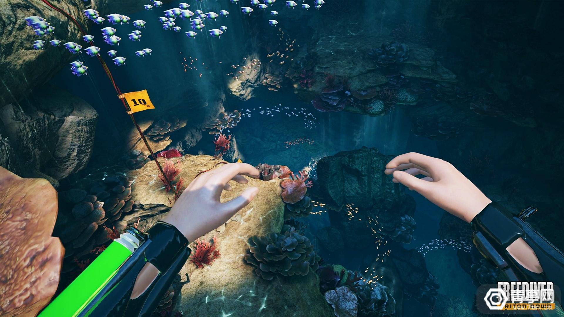 水下VR冒险游戏《FREEDIVER》发布Quest和PS VR版