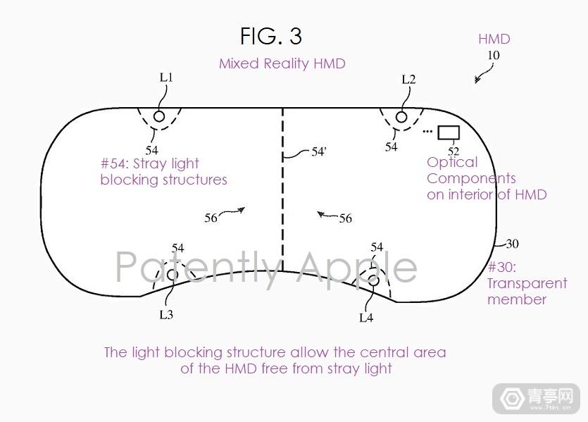苹果MR专利:可调透光度,支持AR/VR模式切换
