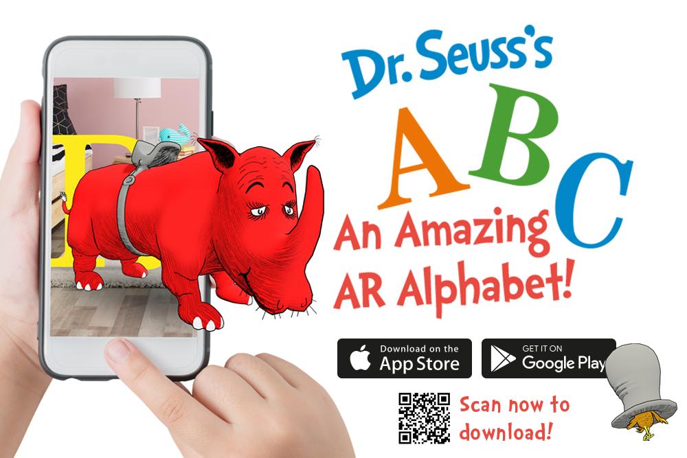 《Dr Seuss's ABC》有AR版啦,学单词更好玩