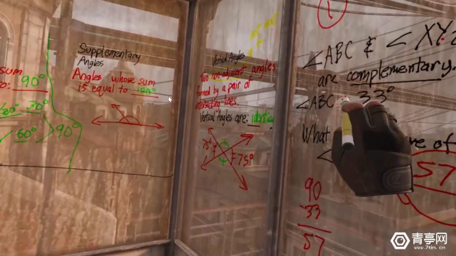 VR游戏《Half-Life:Alyx》内置最强虚拟白板,竟有老师用来讲课