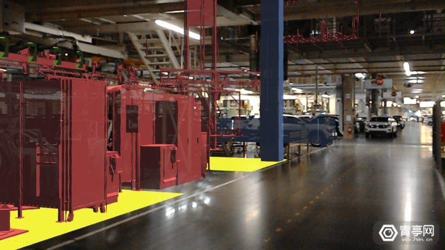 大众汽车工厂将AR技术用于汽车设计生产
