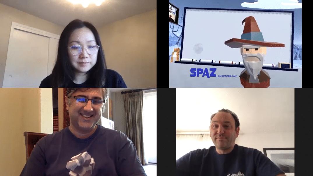 SPACES推出VR虚拟会议平台,可接入ZOOM、Skype等视频软件