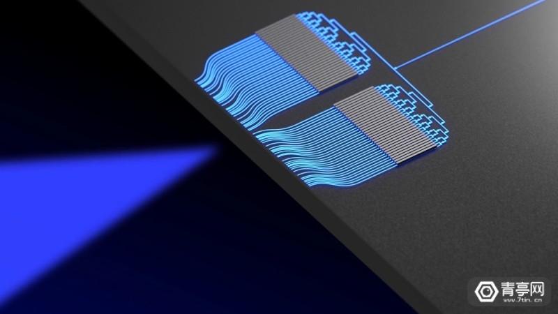 哥伦比亚大学研究出芯片级蓝光OPA