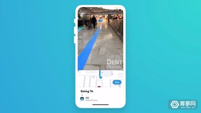 Dent Reality与苹果合作,开发室内AR导航项目