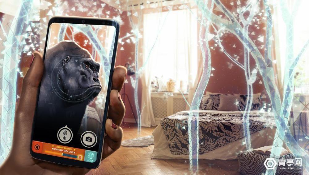 人猿版《精灵宝可梦Go》?这款LBS AR游戏让你在家体验丛林