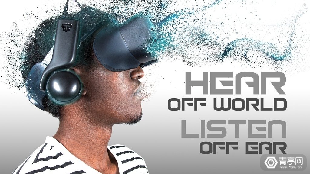 兼容主流VR头显,类Index第三方耳机VR Ear上线众筹
