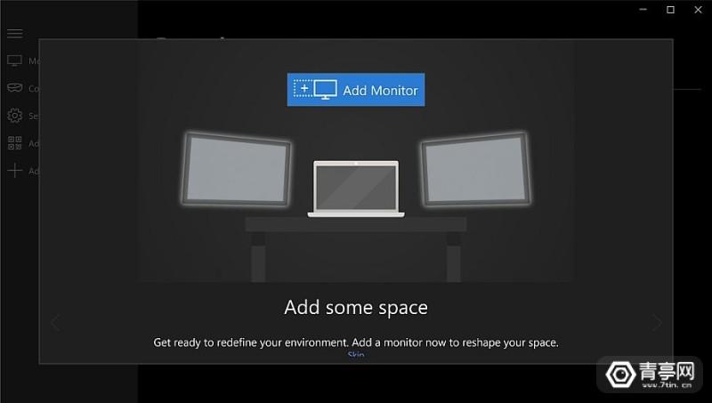 微软发布HoloLens多屏协同应用《HoloScreens》