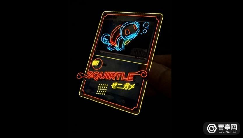 粉丝为卡牌游戏《宠物小精灵TCG》自制AR特效