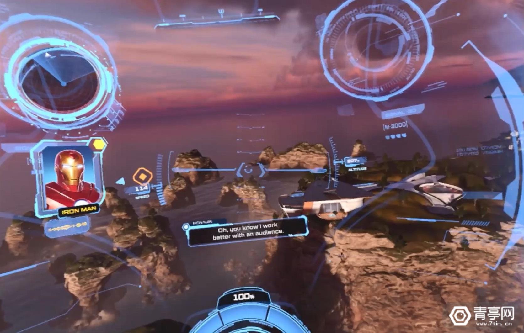 《漫威钢铁侠VR》试玩版实机演示,穿上盔甲刺激空战