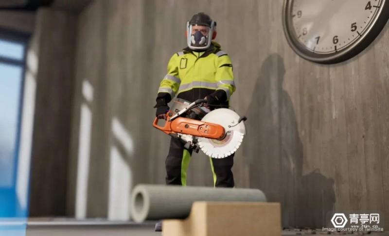 交互式VR培训提高建筑工地的安全性与ROI (1)