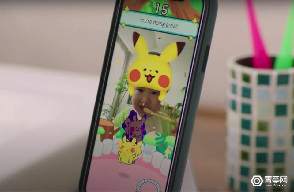 任天堂发布AR小游戏《Pokemon Smile》,帮助孩子爱上刷牙