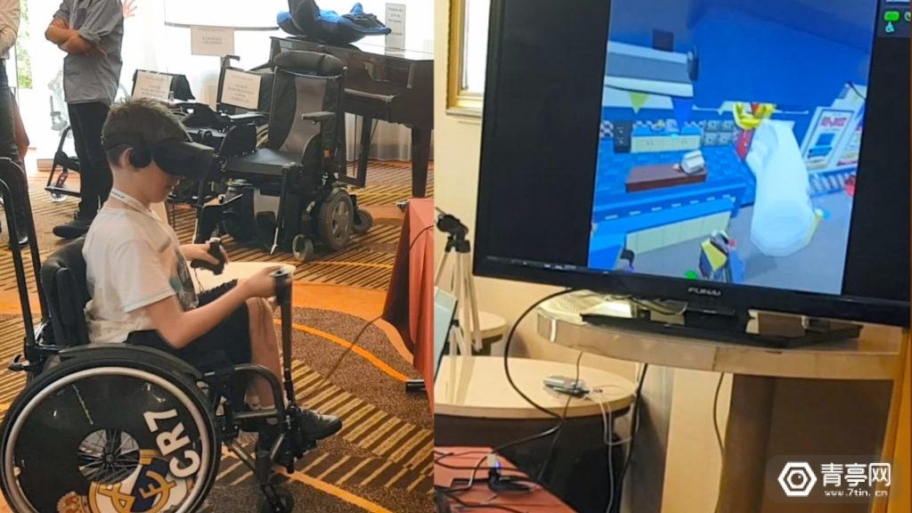 无障碍VR方案《WalkinVR》登陆Steam,坐轮椅也能玩VR
