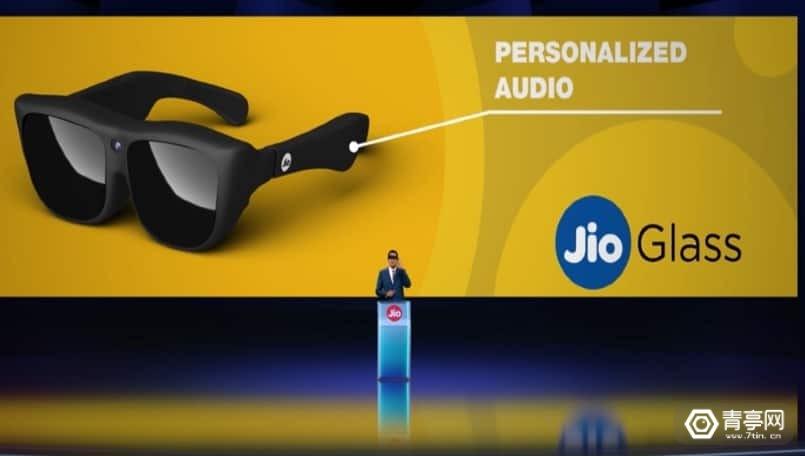 获谷歌3373.7亿卢比投资,Jio Reliance发布分体式MR眼镜