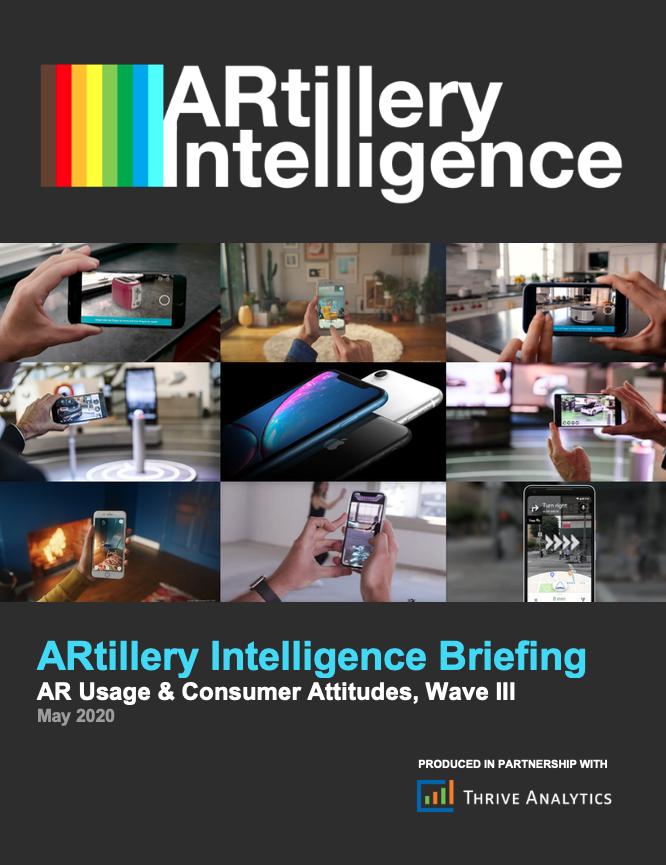 ARtillery报告:消费者使用移动AR的频率