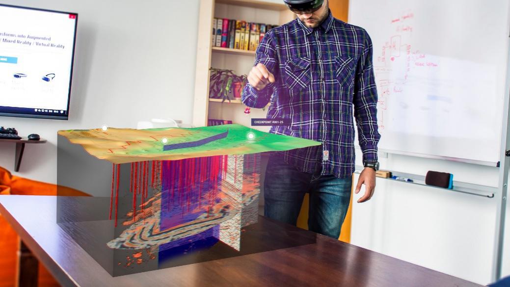 升级培训与研究,中油瑞飞携手微软HoloLens开启混合现实之旅