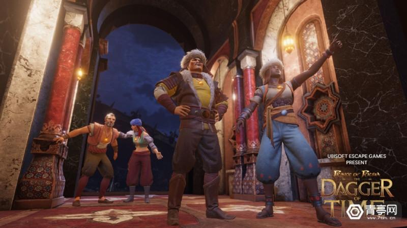 育碧VR密室逃脱游戏《波斯王子-时之刃》将在国内上线