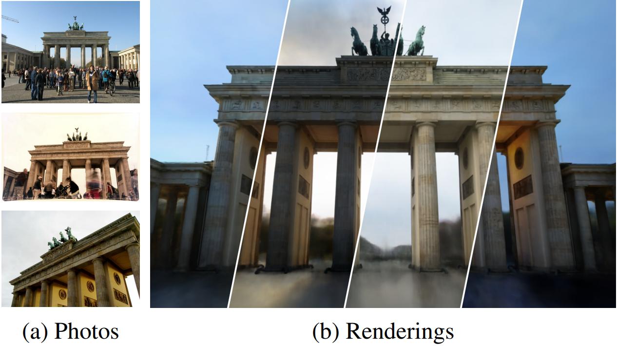 谷歌新研究:用2D网图就能合成3D地图模型