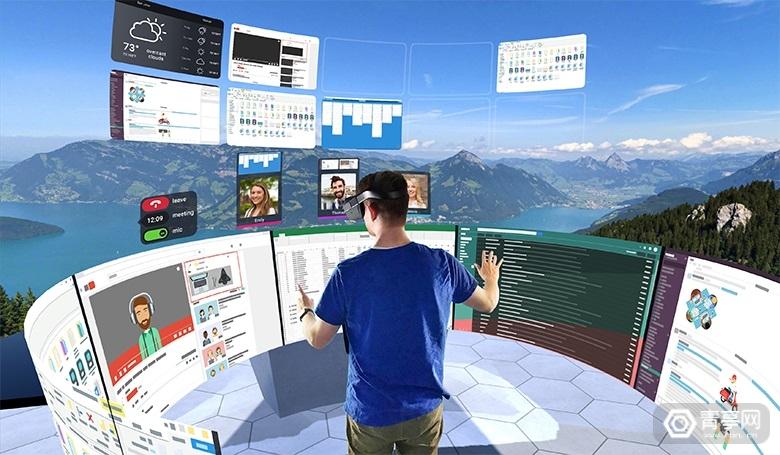 VR办公应用《vSpatial》