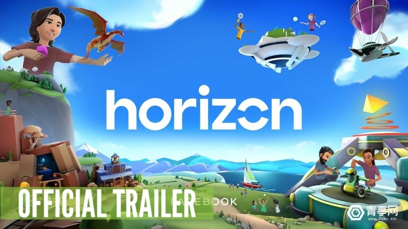 Facebook VR社交 《Horizon》 (1)
