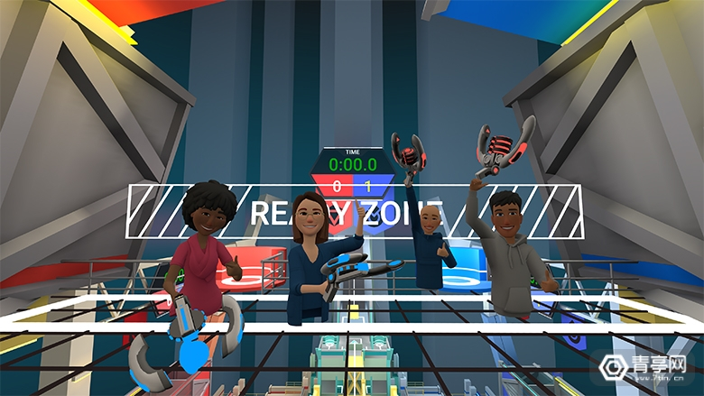 Facebook VR社交 《Horizon》 (2)