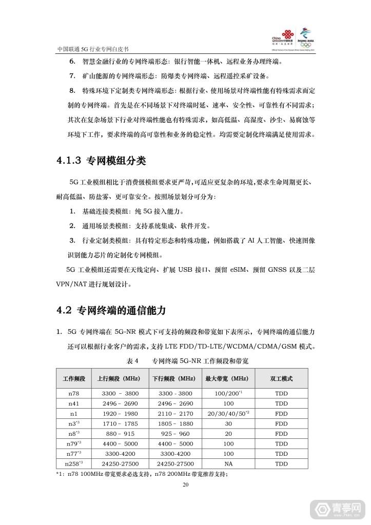中国联通:5G行业专网白皮书 (21)