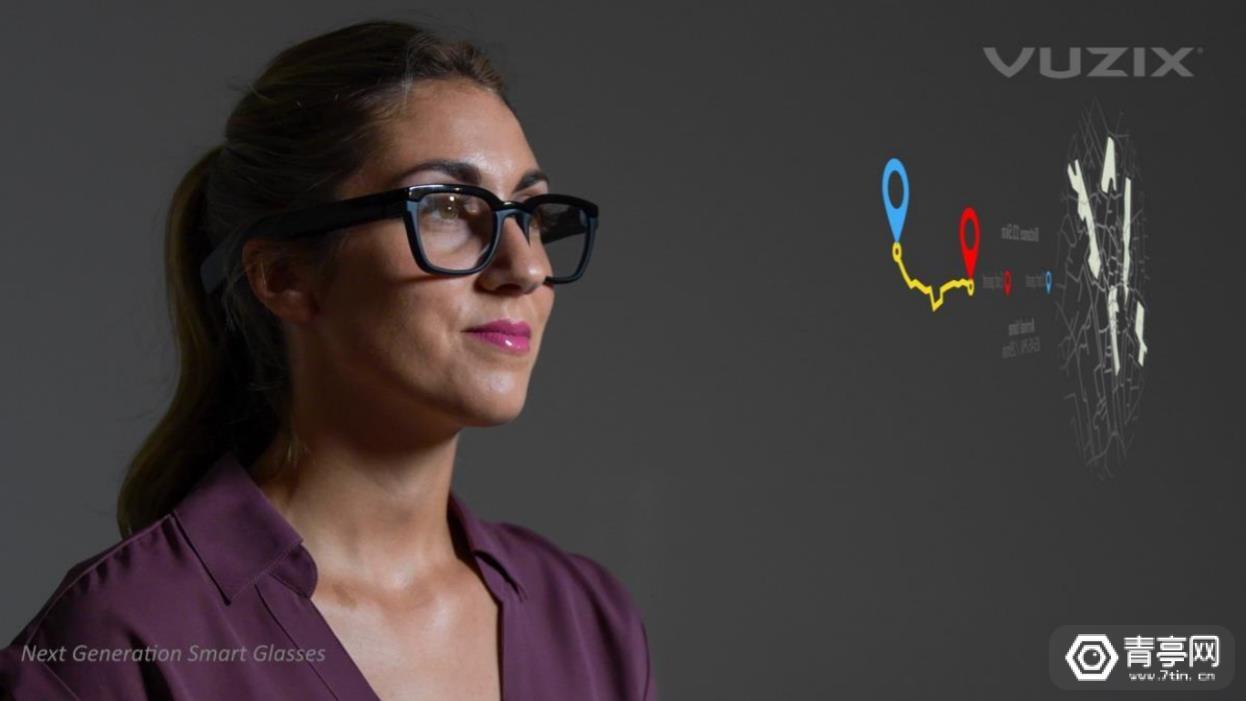 Vuzix新一代AR眼镜公布:双目Micro LED,轻量化设计
