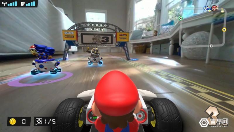 任天堂Switch AR游戏《马里奥卡丁车:家庭巡回赛》Switch_MarioKartLiveHomeCircuit_screen_01