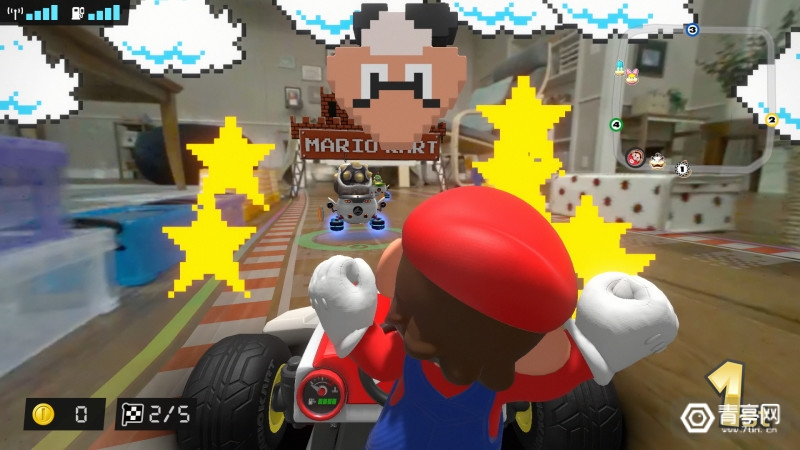 任天堂Switch AR游戏《马里奥卡丁车:家庭巡回赛》Switch_MarioKartLiveHomeCircuit_screen_08
