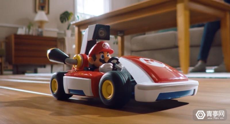 任天堂Switch AR游戏《马里奥卡丁车:家庭巡回赛》