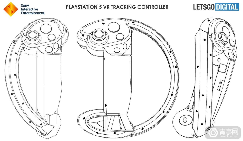 索尼VR手柄专利公布,疑似与PS5结合的PS VR2手柄