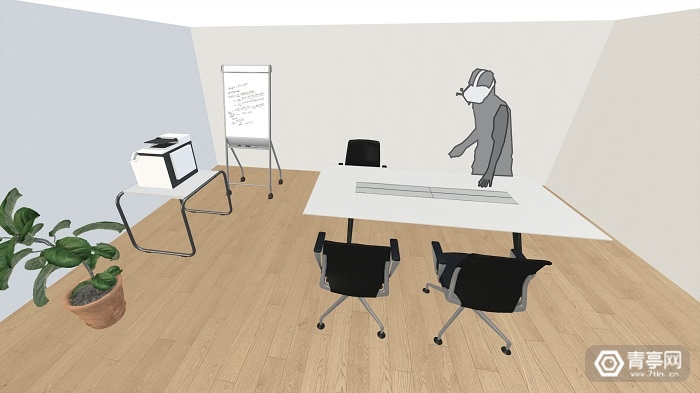 研究人员借助机器人移动家具,让VR体验变得更加真实