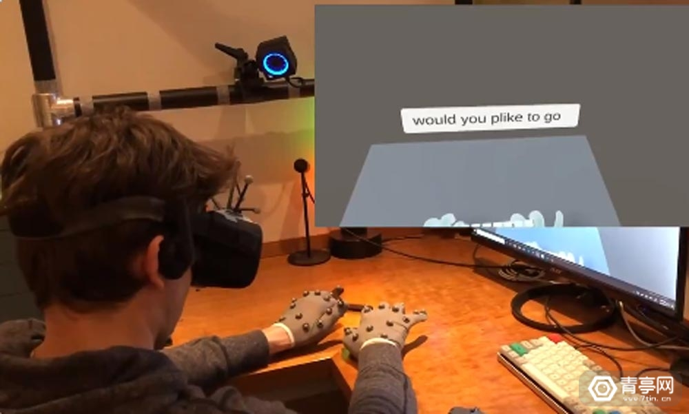 FRL展示Quest手势识别新成果,利用光追手套模拟键盘