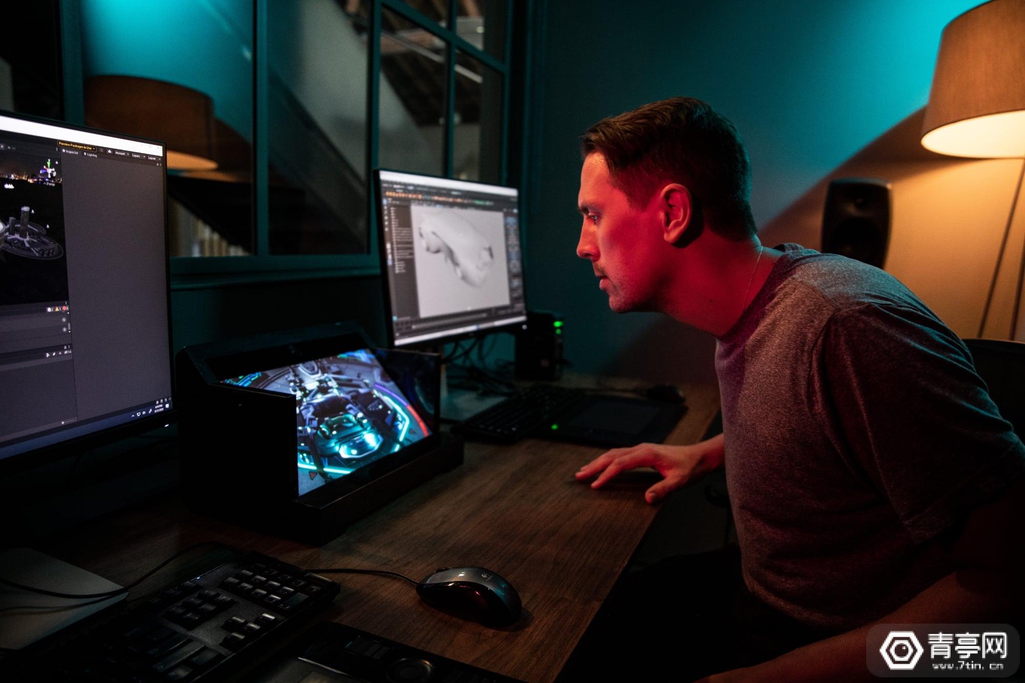 售价5000美元,索尼发布眼球追踪3D显示屏ELF-SR1