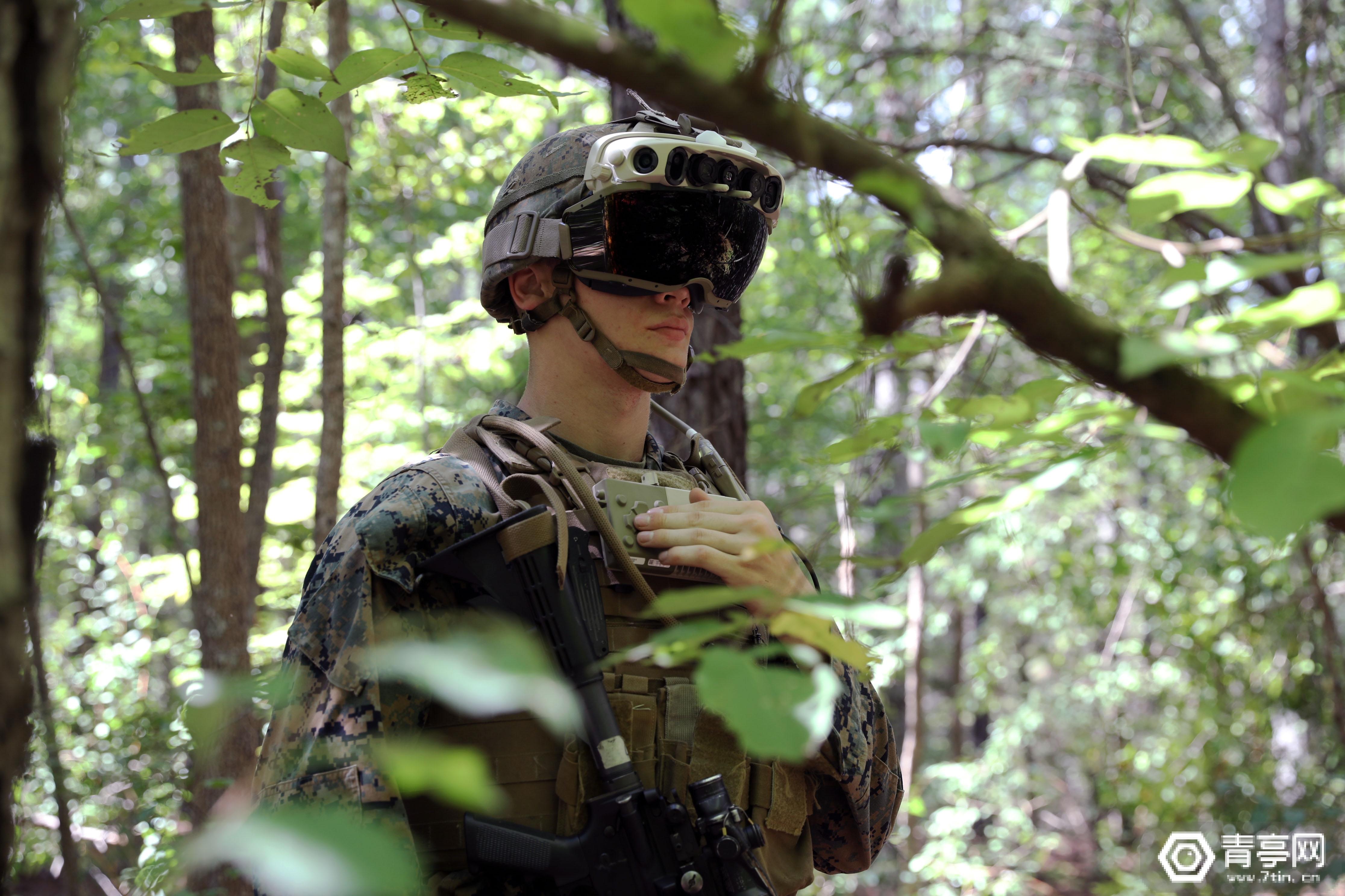 美军IVAS AR系统已在1000名士兵中进行25场测试