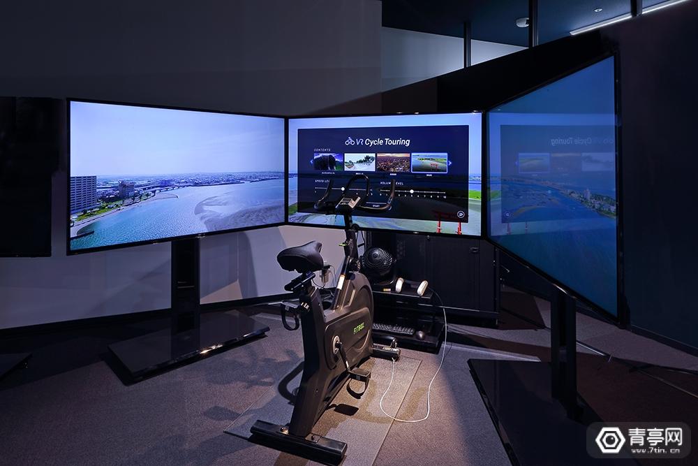 [案例] VR+健身:可模拟东京上空骑车的VR健身单车系统