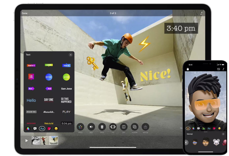 苹果Clips应用更新,支持垂直视频录制和AR