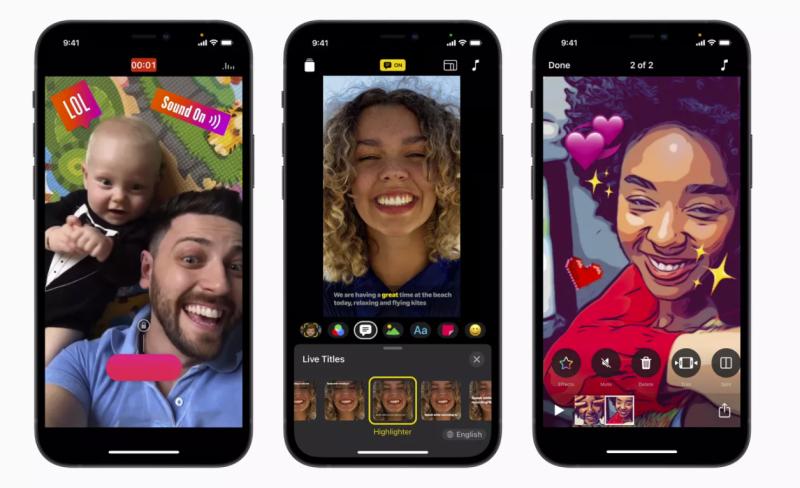 苹果轻应用Clips应用更新,支持垂直视频录制和AR
