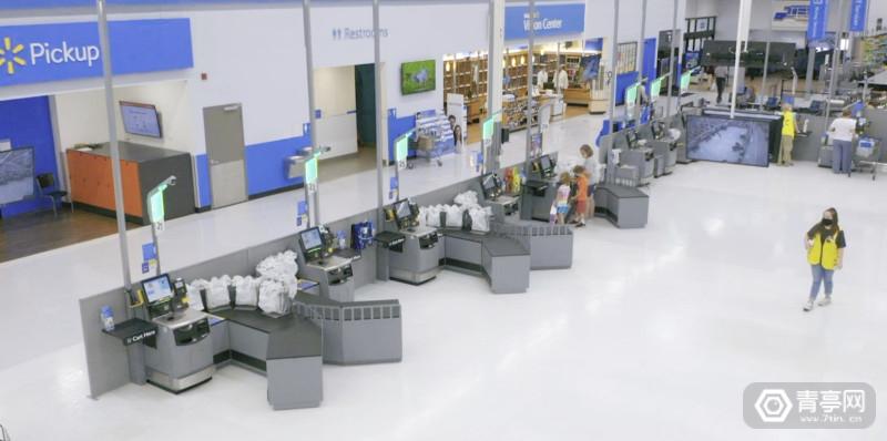 沃尔玛新的测试店将尝试AR移动端改造后的收银台等 (4)