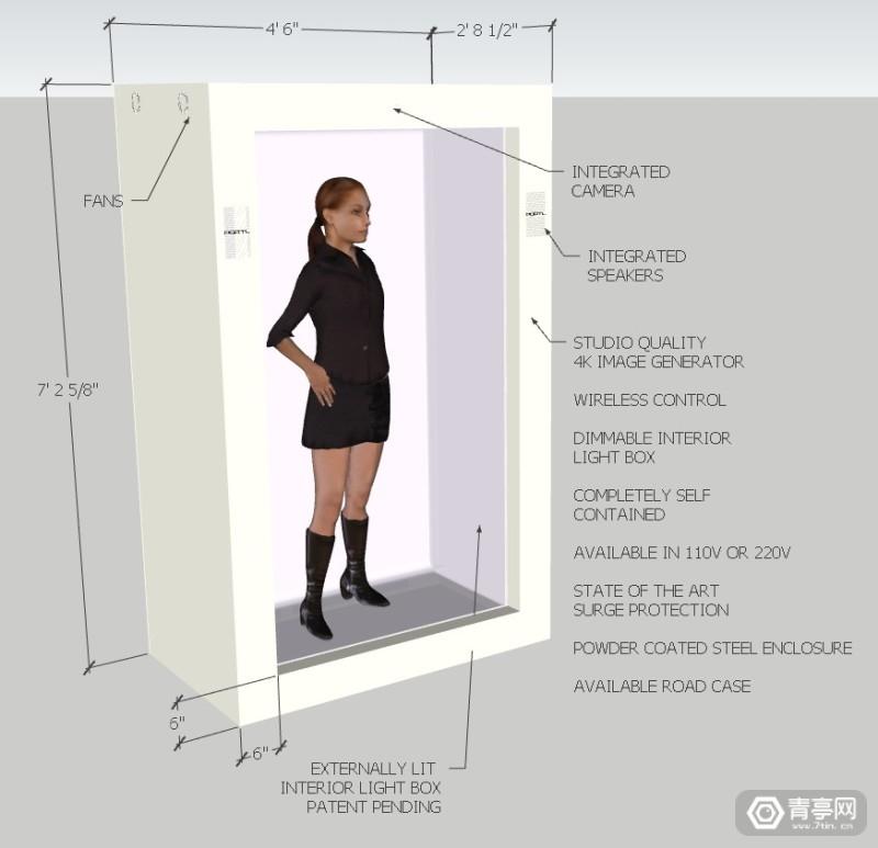 PORTL Hologram全息 (2)
