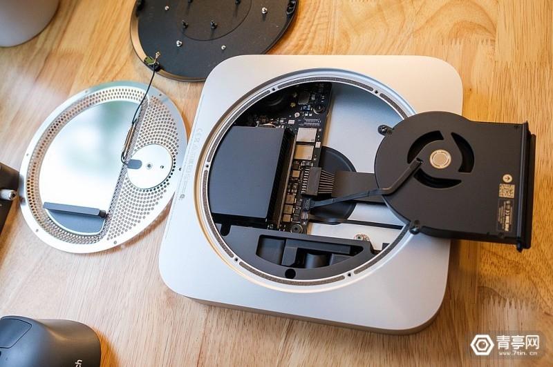 M1芯片Mac Mini拆解 (6)