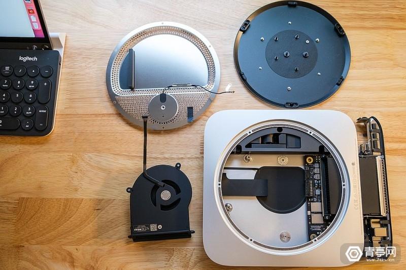 M1芯片Mac Mini拆解 (7)