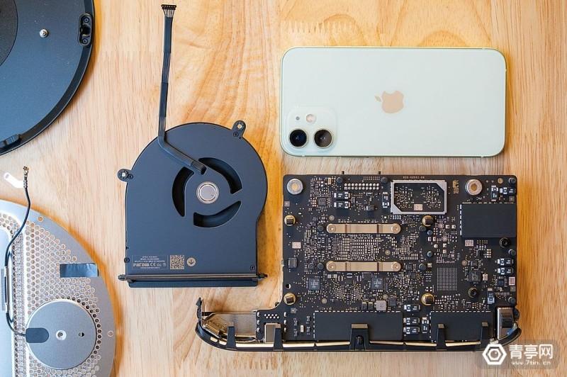 M1芯片Mac Mini拆解 (8)