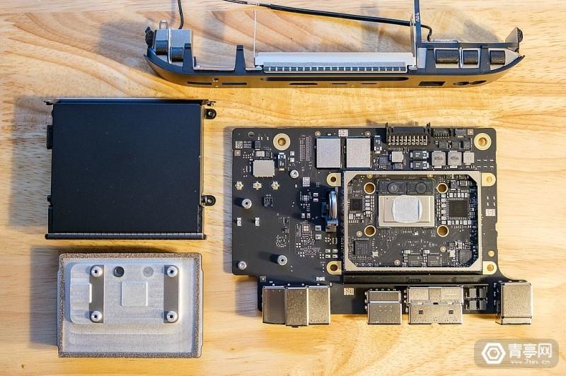 M1芯片Mac Mini拆解 (9)