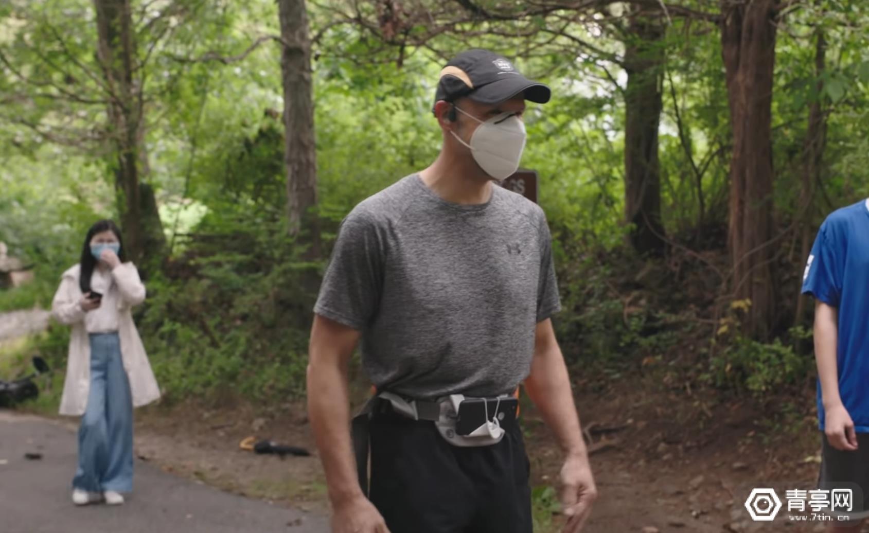 谷歌的Project Guideline可以让一个盲人独自完成跑步