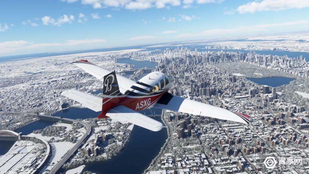 《微软飞行模拟2020》VR模式、冰雪天气将同步更新